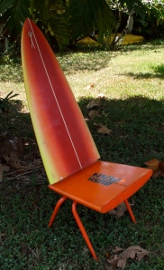 Surfboard Chair, I really miss that board!