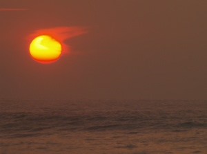 Voggy Sunset, North Shore Hawaii