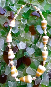 Hawaiian shell cone necklace