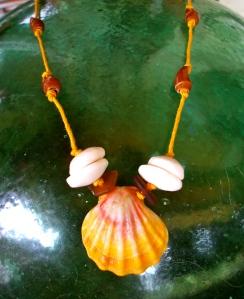 Hawaiian Sunrise shell necklace