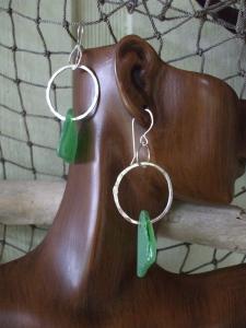 Beach Glass earrings