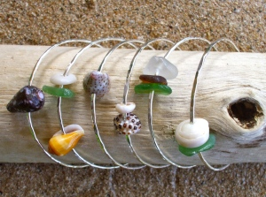 Hawaiian shells bangles
