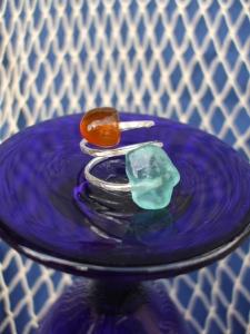 Beach Glass ring