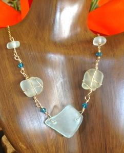 North Shore Beach Glass Necklace