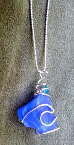 Hawaiian Beach Glass pendant