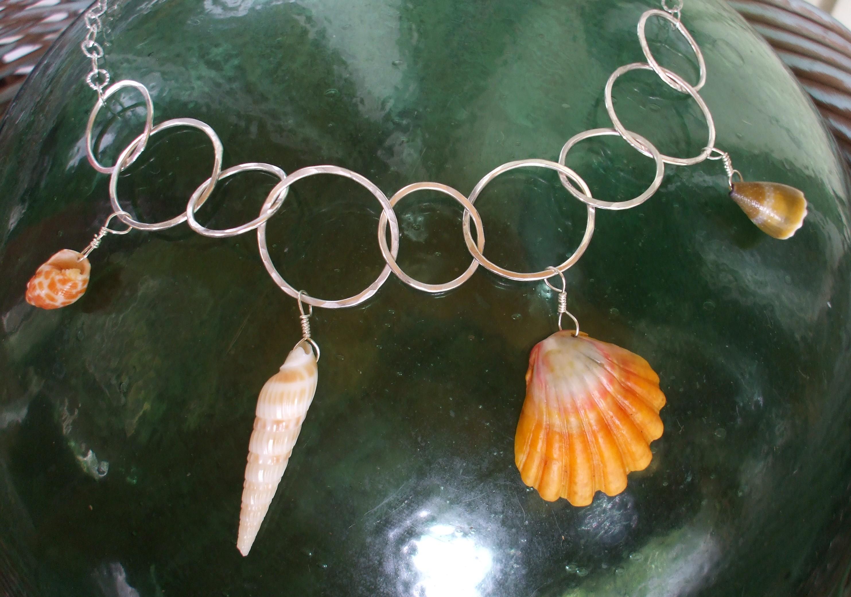 Sunrise Shell Necklace Shell Jewelry Sunrise